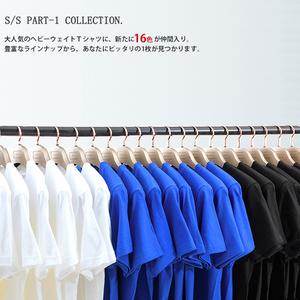 短袖t恤男日系潮宽松纯棉纯色短袖打底T恤日系男女通款无缝T恤衫