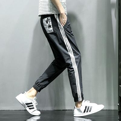 夏季时尚新款休闲裤男宽松束脚裤 电商A020-6002A-P50量大差价大