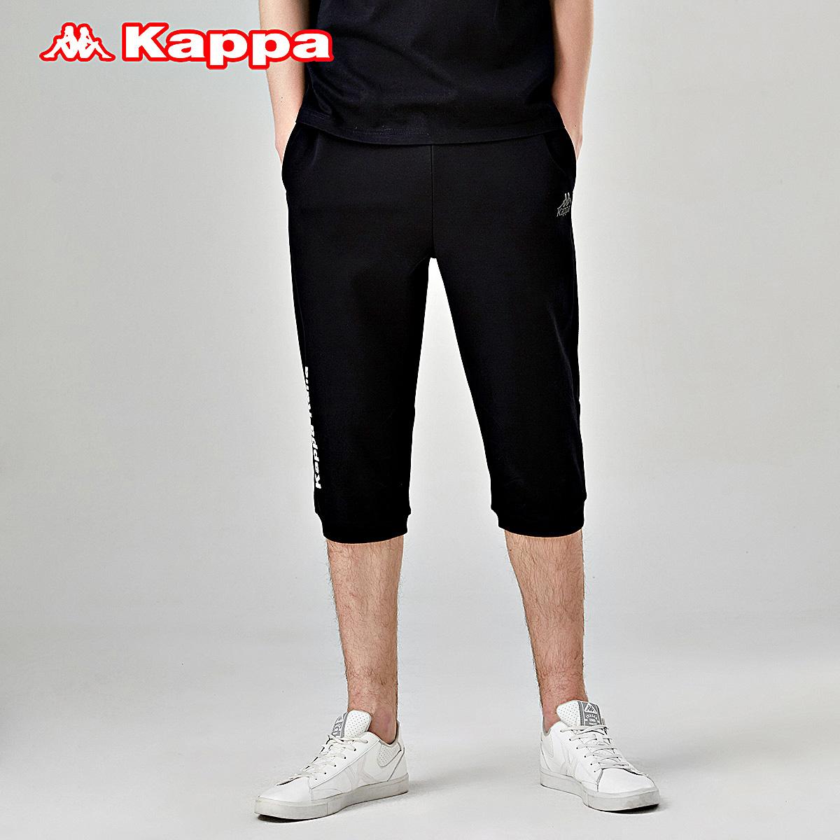 kappa男款运动七分裤2019休闲裤(非品牌)