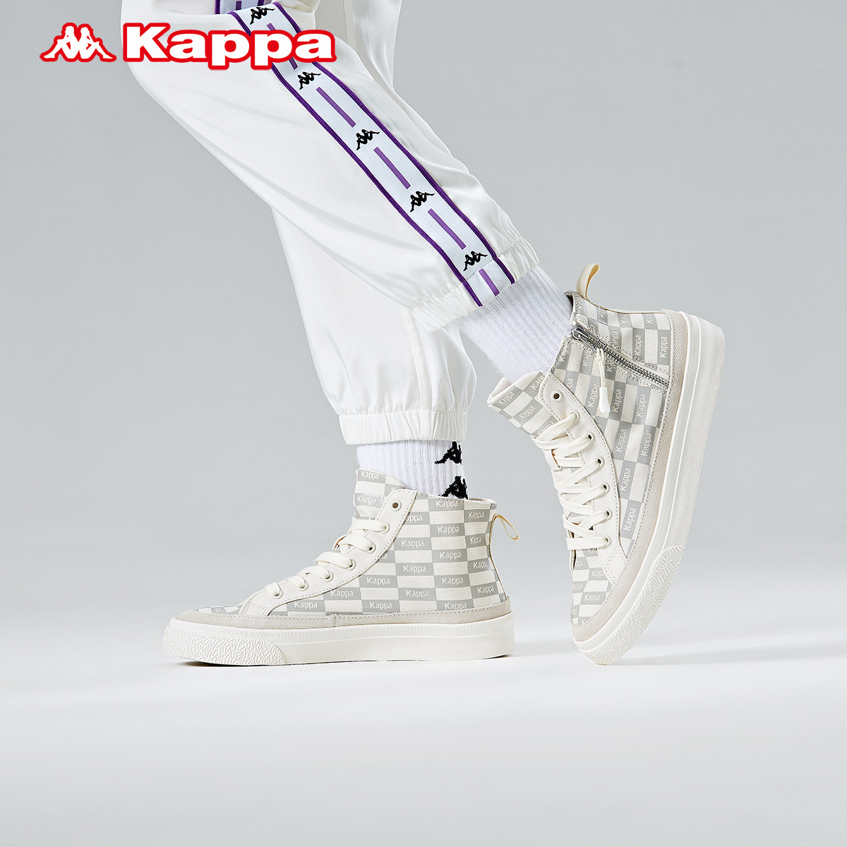 kappa串标帆布鞋新款情侣运动鞋值得买吗