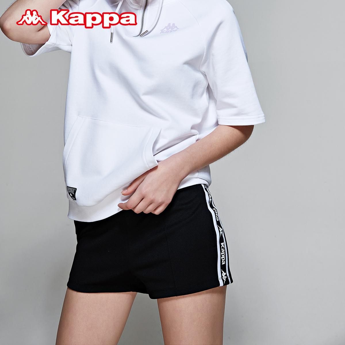 10-13新券KAPPA卡帕 女款运动短裤休闲超短裤跑步健身2019款|K0922DY18D