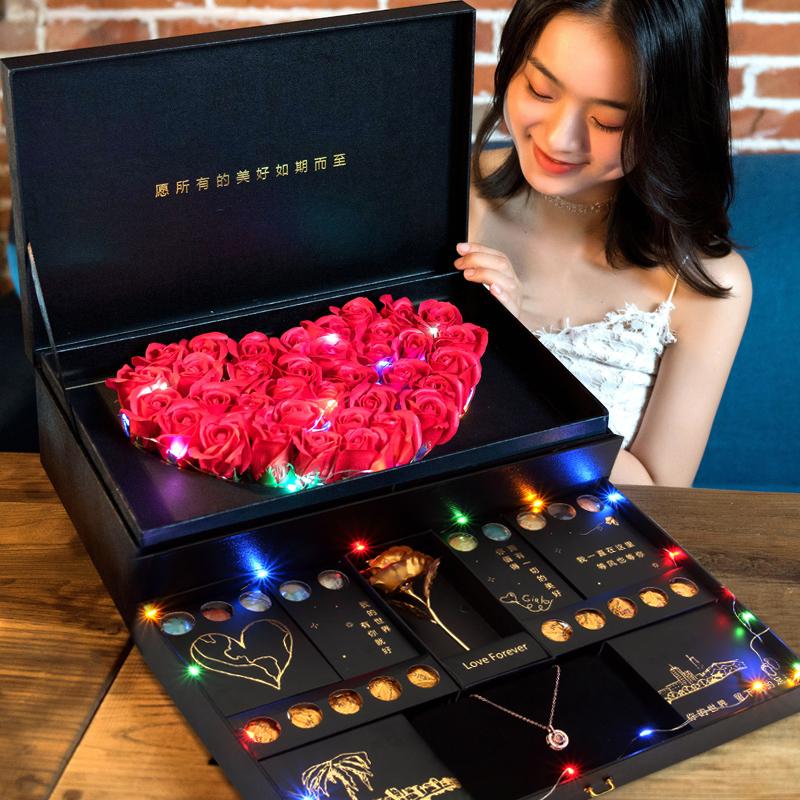 创意圣诞节礼物生日礼物女生送女友闺蜜老婆特别实用网红浪漫平安