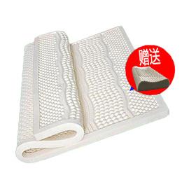 泰国天然乳胶颗粒按摩床垫榻榻米5cm10cm橡胶1.5米床褥1.8米定制图片