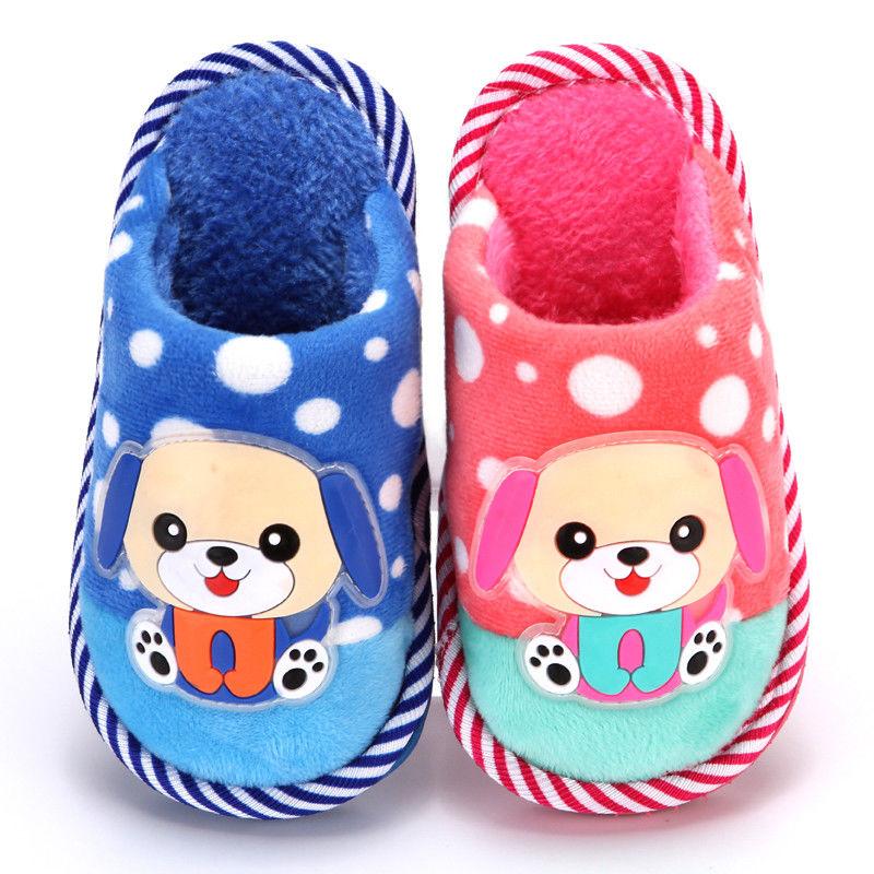 儿童棉拖鞋一家三口亲子棉拖秋冬季小孩男童女童防滑宝宝拖鞋