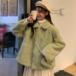 初中學生閨蜜休閑女生外套女潮原宿BF衛衣小香風女裝仿羊羔絨衛衣
