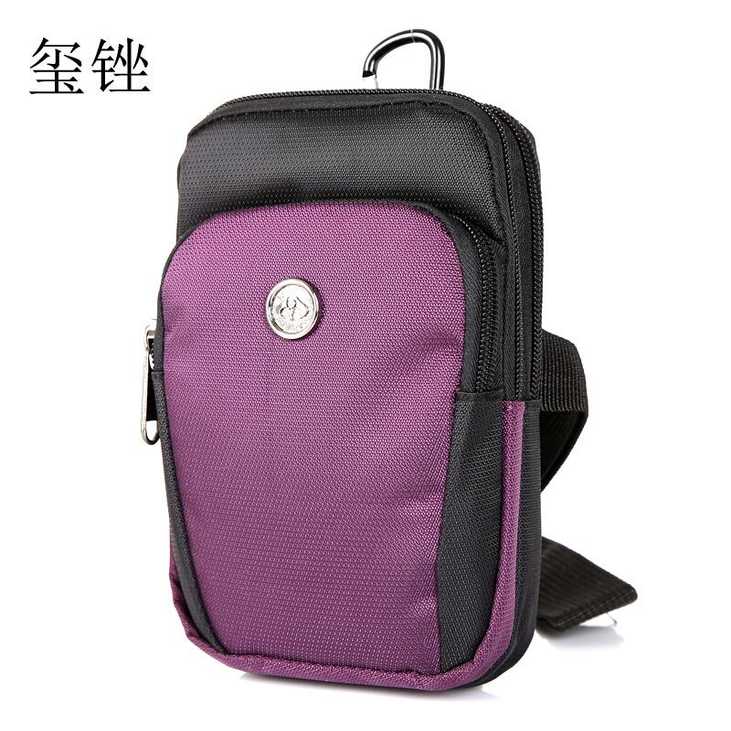 穿皮带手机包多功能迷你小挂包户外休闲防水尼龙小包胸包
