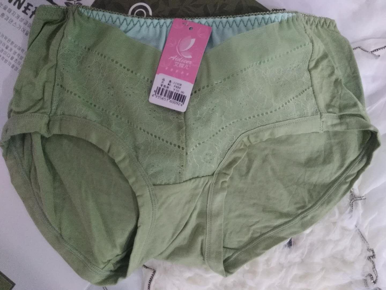 满包邮品牌尾货高档时尚新莫代尔拼接可爱纯色女士三角内裤