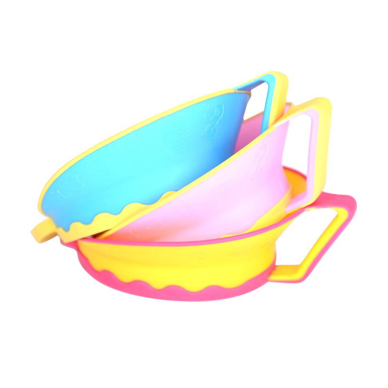 【送洗头杯】儿童洗发帽可调节硅胶婴幼儿宝宝防水洗澡浴帽加大厚