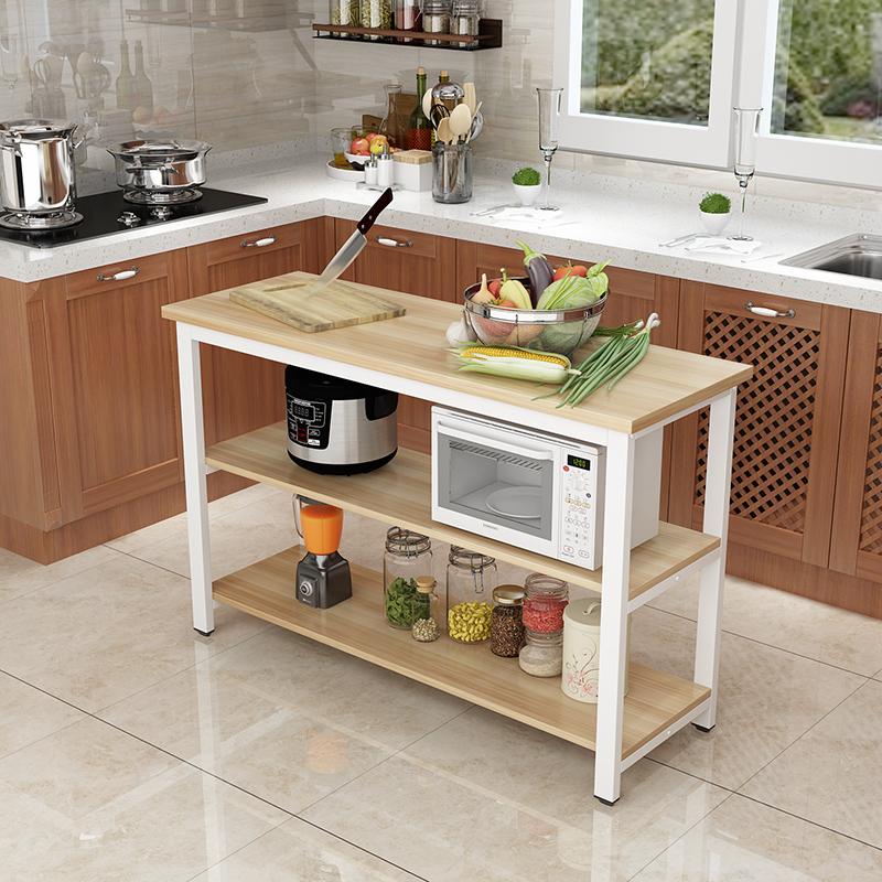 Кухня стол вырезать блюдо стол операционная тайвань этаж кухня стеллажи легко длинный стол многослойный стол хранение стол стандарт