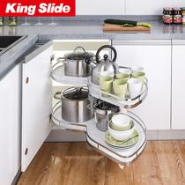 不锈钢调料拉篮抽屉式阻尼轨道置物架304汉高橱柜调味拉篮厨房