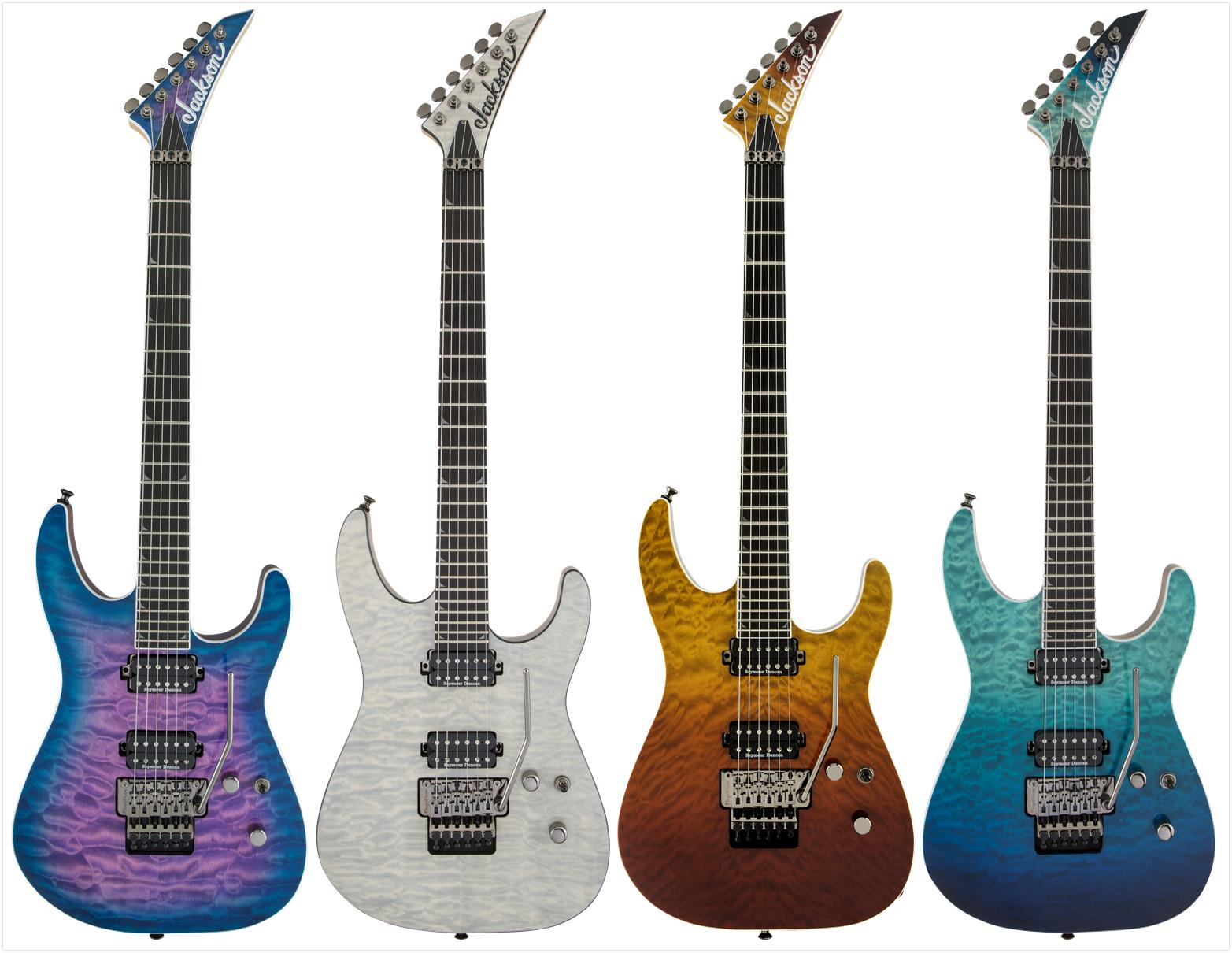 情怀乐器JACKSON SL2Q MAH CARIBBEAN BL 2019新品SOLO电吉他