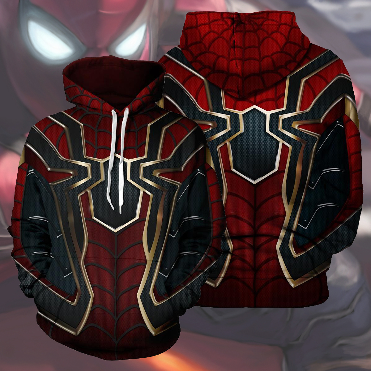 Avengers union iron man sweater 3D printed Pullover Hoodie Cosplay animation