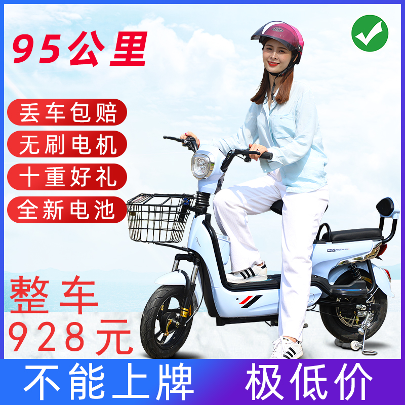 Long distance running King 48V new lead acid electric bicycle small battery car for men and women