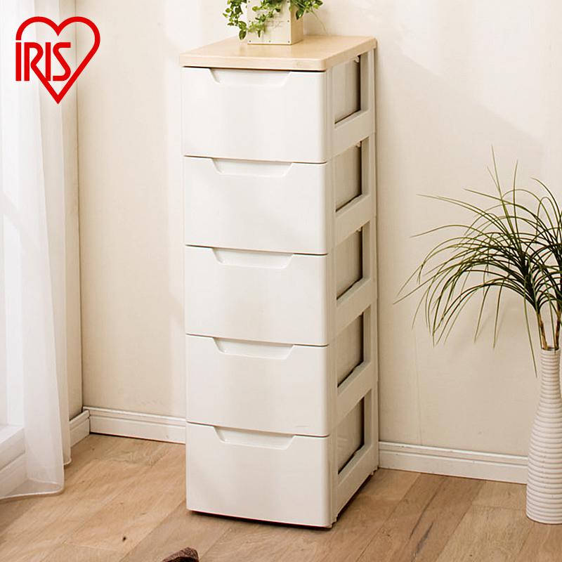 愛麗思IRIS愛麗絲塑料抽屜式衣服間隙整理箱夾縫縫隙收納櫃窄柜子