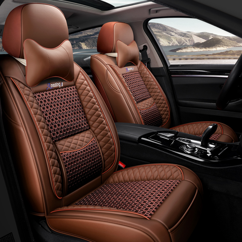 Dongfeng Honda 2017 urv2016crv new civic xrv special purpose vehicle cushion fully surrounded by leather seat cover