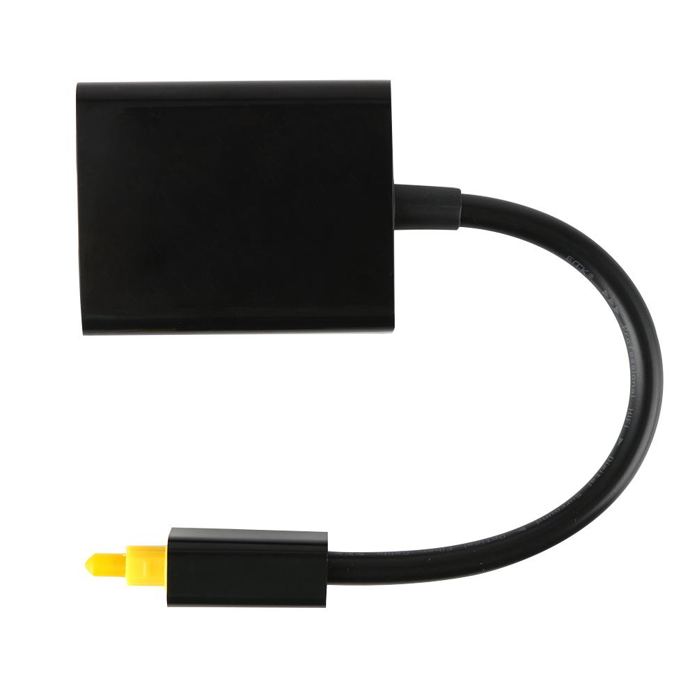 18cm Digital Optical Fiber Audio Cable Splitter Connector To