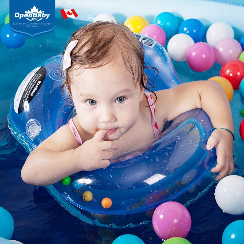 欧培婴儿充气游泳圈小孩新生儿宝宝腋下圈儿童救生圈趴圈0-3-6岁