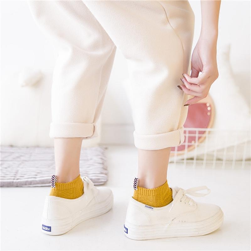 袜子女短袜浅口韩国可爱春夏季薄款潮纯棉防臭船袜韩版学院风女袜