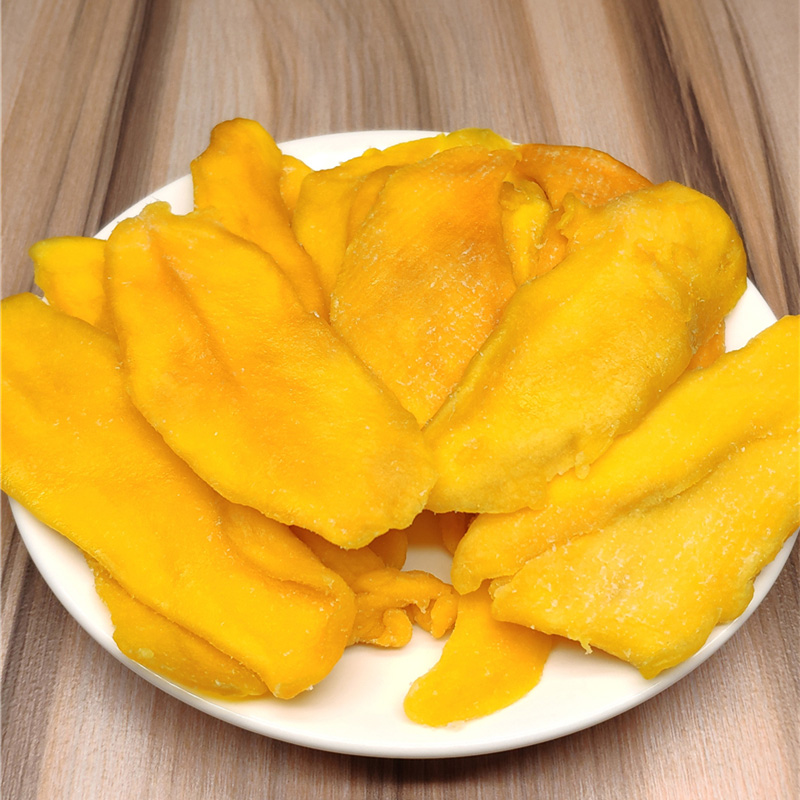 非7D芒果干500g菲律宾风味芒果条芒果片一斤装散装零食大袋水果干图片