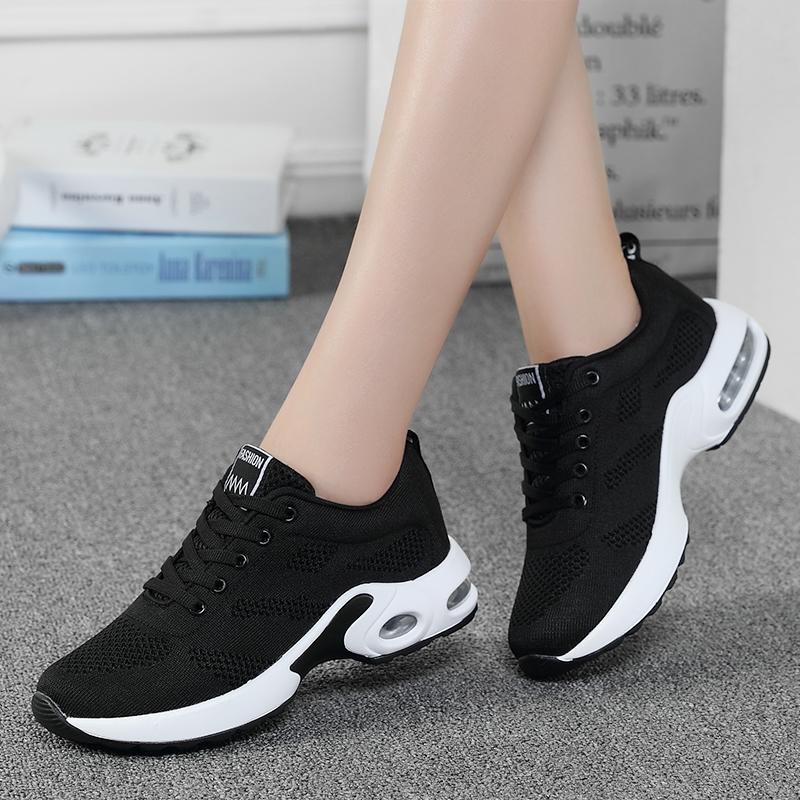 大码女鞋41-43女士秋冬款加绒保暖百搭休闲鞋加大码42运动跑步鞋