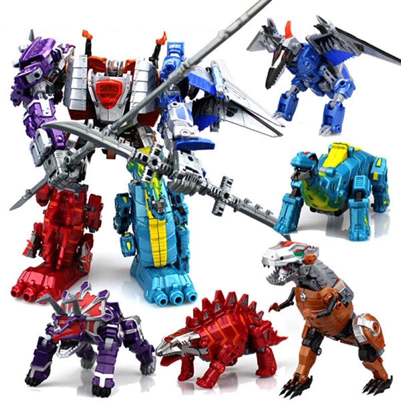 变形恐龙金刚4霸王龙模型合体战队修罗王套装机器人儿童男孩玩具