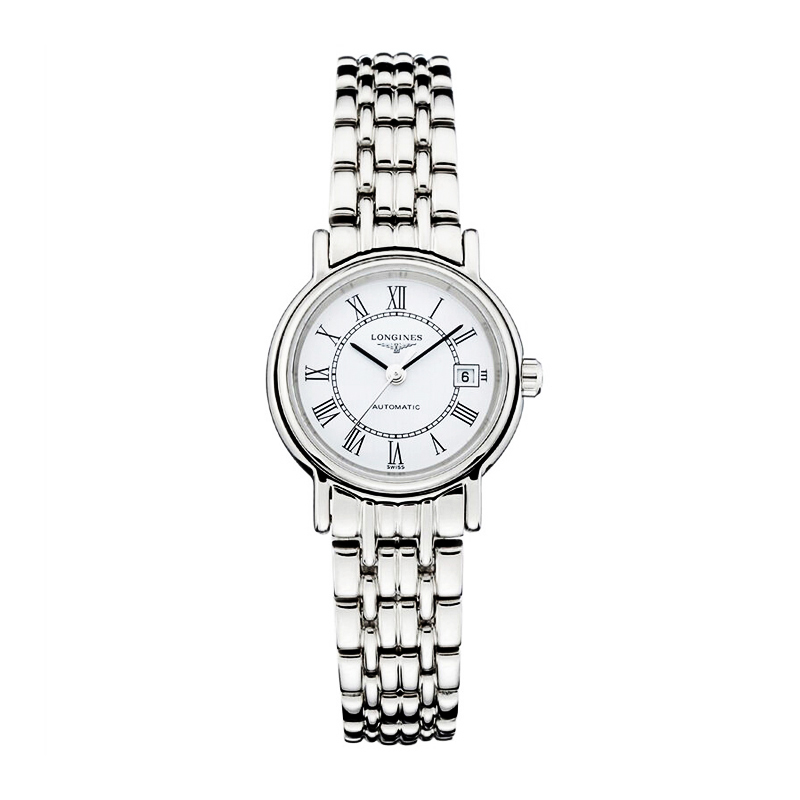 分期购 瑞士浪琴手表女士时尚瑰丽系列自动机械腕表L4.321.4.11.6