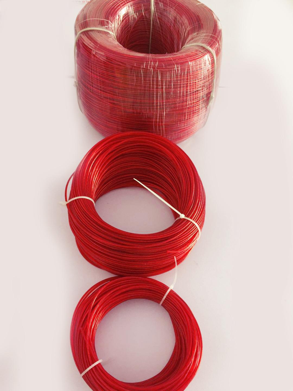 风车串批发专用包塑钢丝绳 0.15元/米  可订制长度