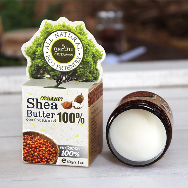 [莎哇蒂泰国美妆身体乳,霜]泰国phutawan乳木果油shea月销量1件仅售52元