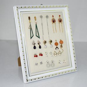 欧式耳环展示板家用耳饰收纳架挂墙项链首饰架耳钉饰品架摆摊道具