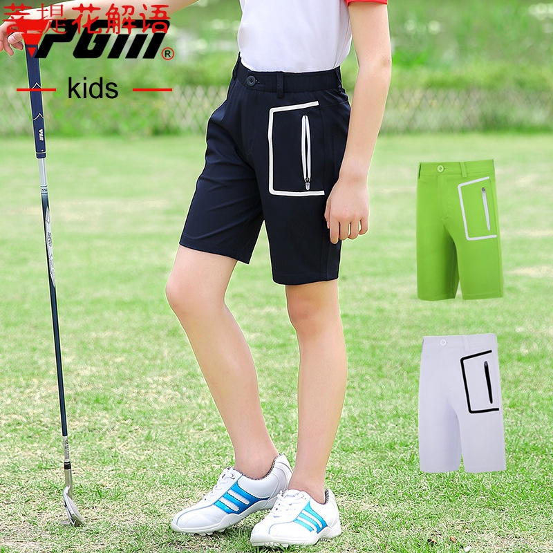 PGM Summer Boys shorts Golf pants childrens shorts sports pants