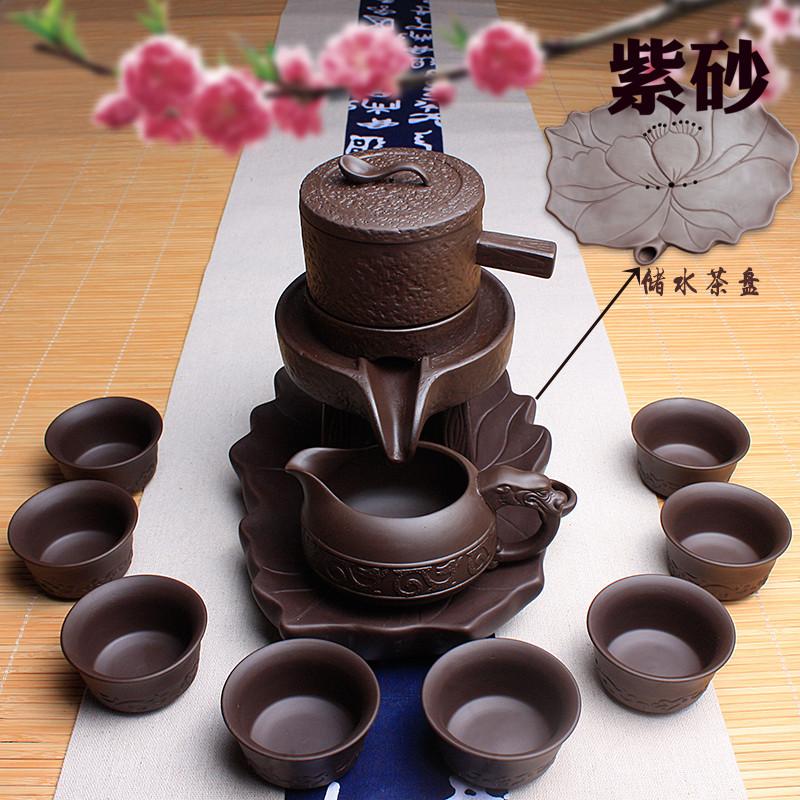 紫砂茶具�腥耸�磨全半自�犹籽b茶�靥沾刹璞�功夫小泡茶器�r�磉\�D