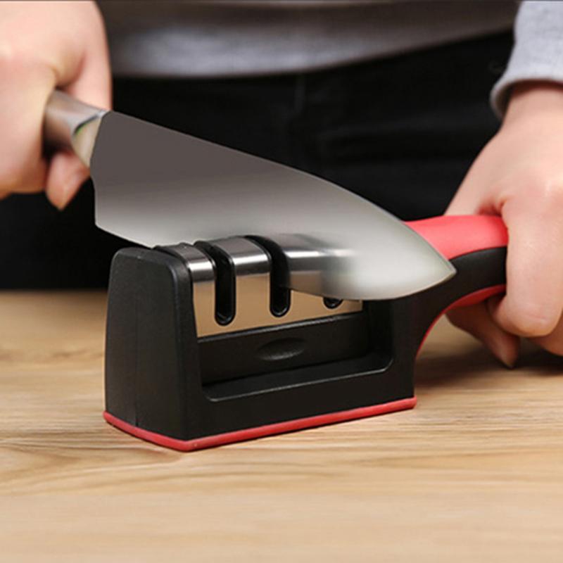 天天特价磨刀器磨剪刀多功能家用厨房用品快速磨刀石棒工具