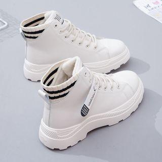 2020新品冬季奥伦马丁靴女鞋英伦风新款加绒厚底秋冬女鞋时尚短靴