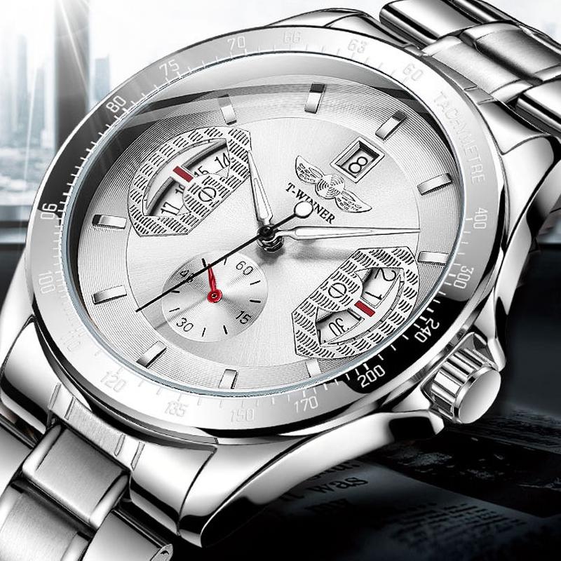 2020新款胜利者薄款全自动机械手表男士镂空防水夜光潮流国产腕表