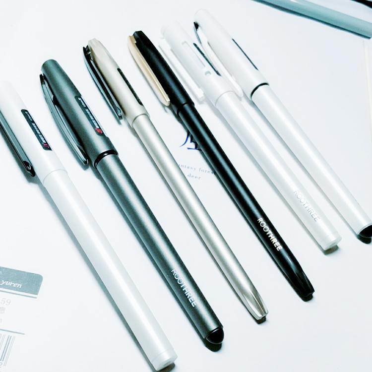 限3000张券根号三0.5黑色全针管学生中性笔