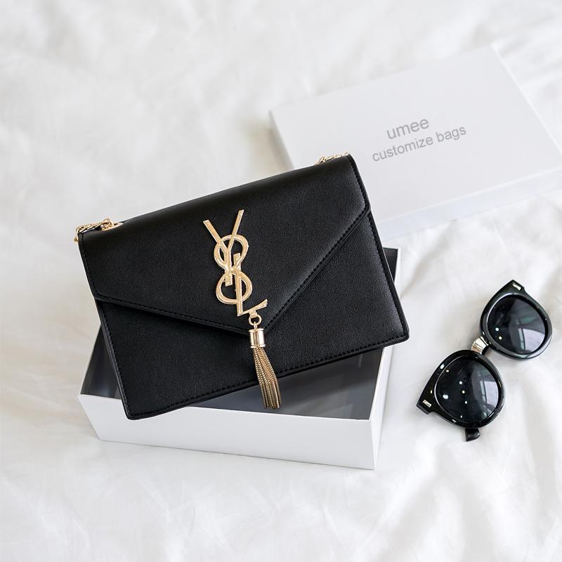 Звезды пакет для 2017 с новой женщин через плечо цепи мешок женской моды сумки сумки