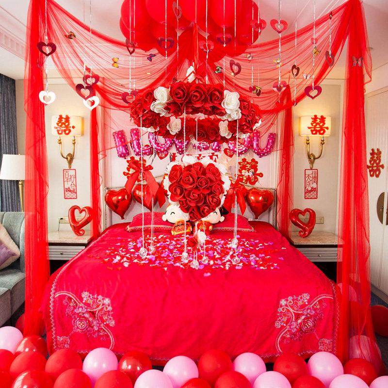 Творческий свадебный макет предоставляет цветной романтик свадебное свадебное Декоративные свадебные пакеты Lahua Bedroom новый дом