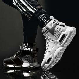 空军一号毒液嘻哈高帮运动中帮秋季男鞋篮球aj板鞋鸳鸯鞋子男潮鞋图片