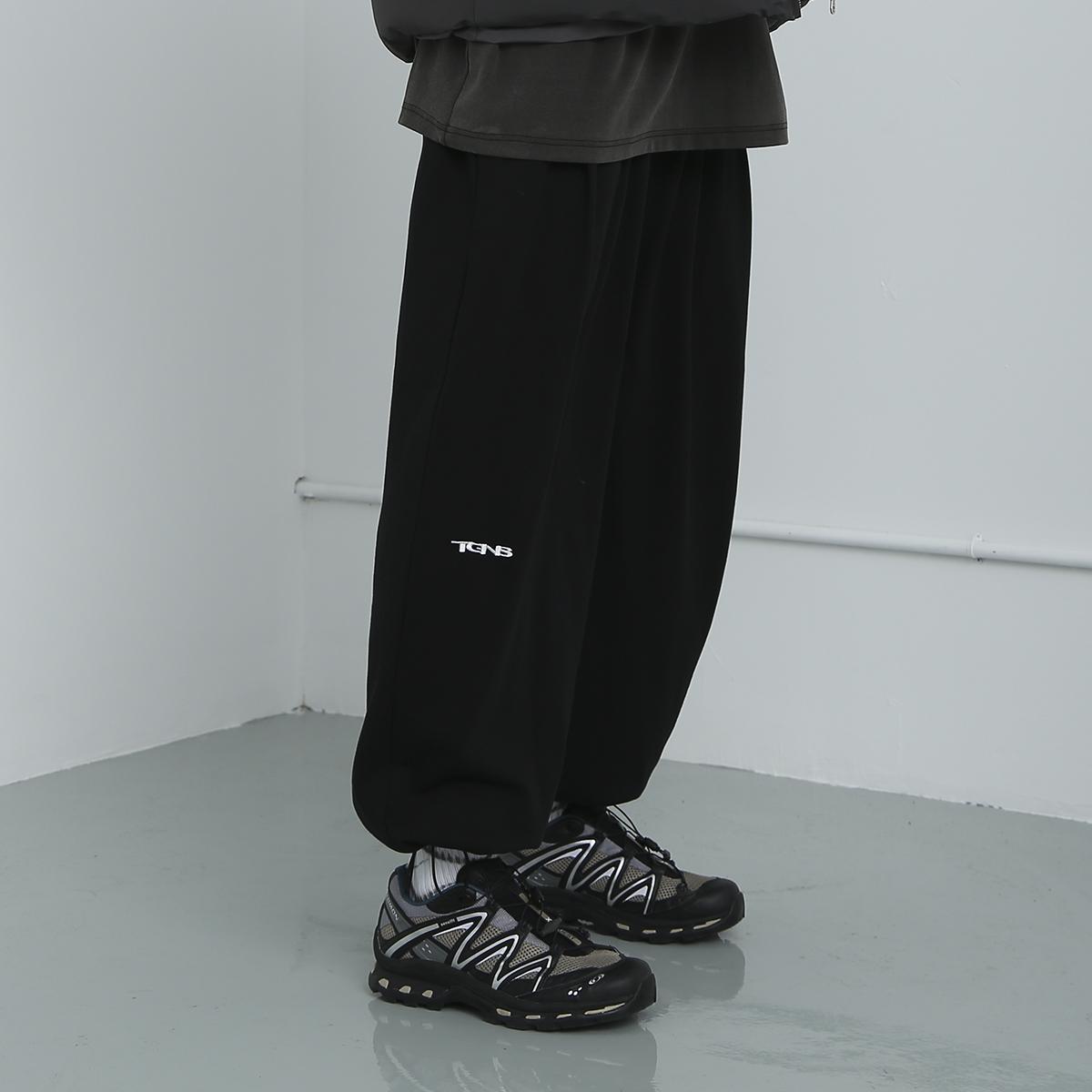 【2GUNS官方网店】潮牌廓形工装卫裤宽松百搭裤子抽绳束脚裤男女