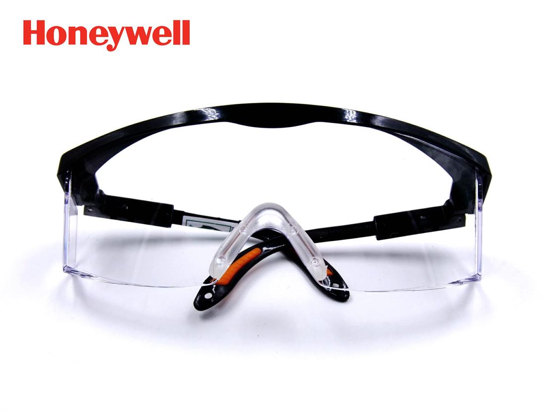 霍尼韋爾100110眼鏡 Honeywell巴固S200A 防衝擊打磨勞保防護目鏡