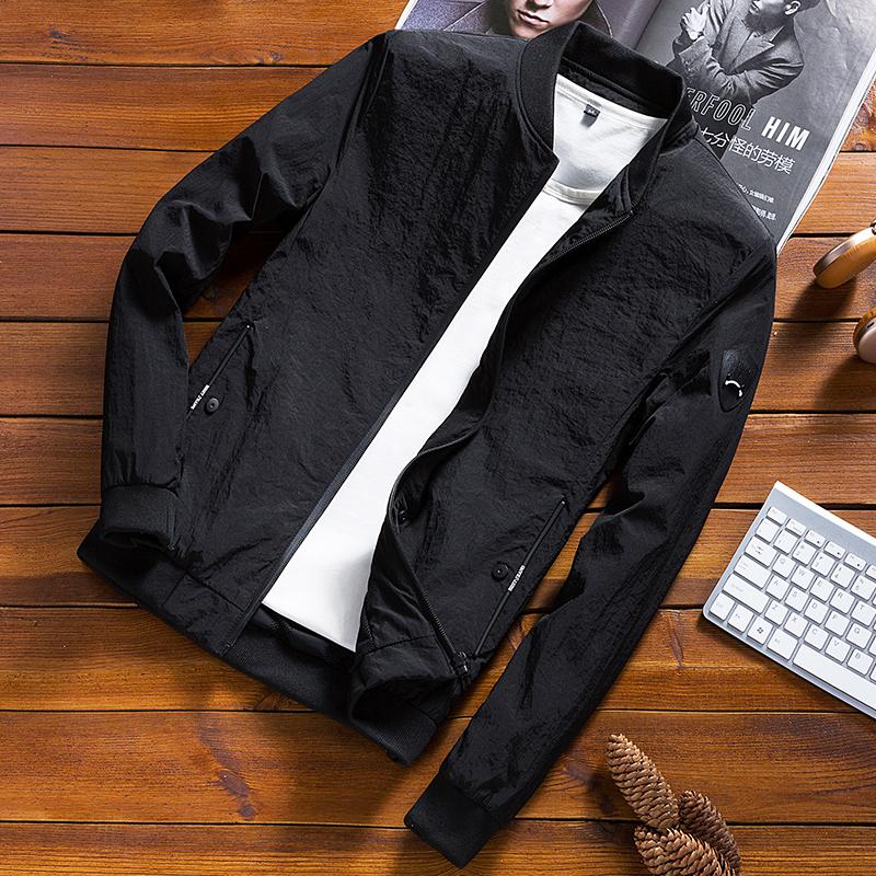 男士外套春秋冬季韩版潮流修身帅气休闲夹克装薄款上衣服棒球加绒