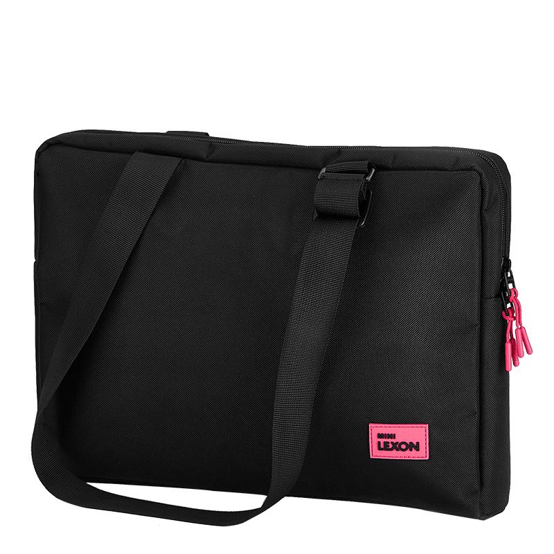 French Lexon single shoulder bag womens portable business computer bag 13.3 inch inner bag fashion messenger bag