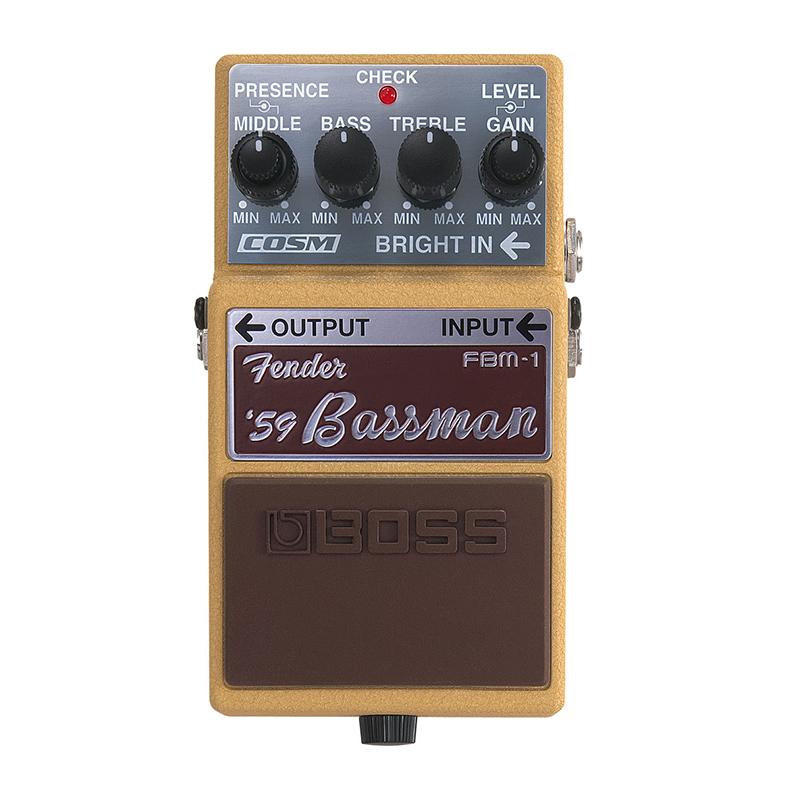现货BOSS FBM-1 FBM1 Fender'59 Bassman 芬达音箱模拟单块效果器