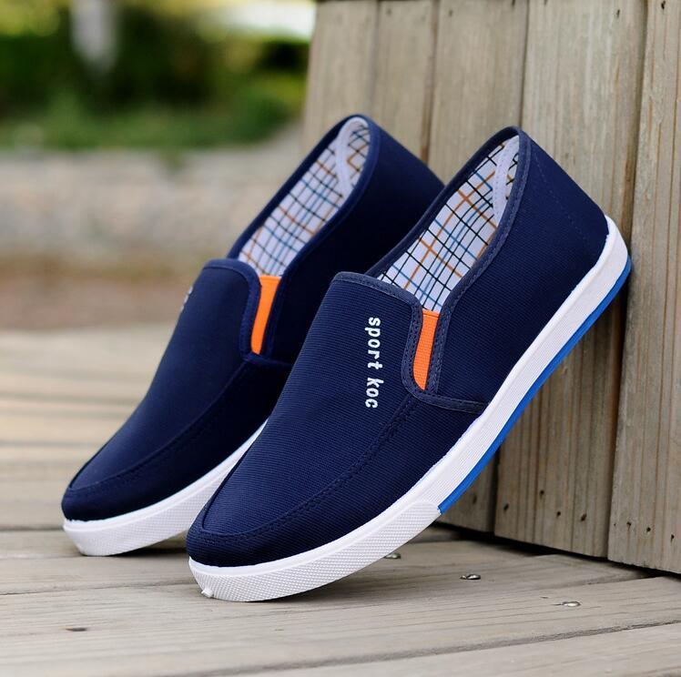 春と秋のキャンバス靴の流行靴の通気がおっくうです。カジュアルな男性の柔らかい底を踏むと、防臭に長けています。