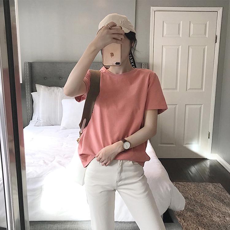 短袖夏季2020新款女装韩版网红t恤
