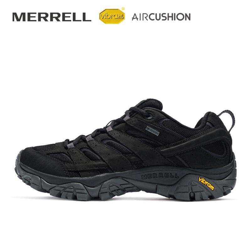 MERRELL迈乐MOAB男鞋GORE-TEX轻装徒步鞋防水缓震户外鞋男J46559