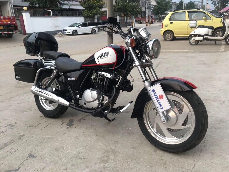Original Suzuki imported Prince motorcycle 150-400c retro Harley style American cruise Prince