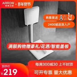 ARROW 箭牌卫浴家用蹲便器水箱整套装陶瓷防臭蹲坑大便器ALD507G