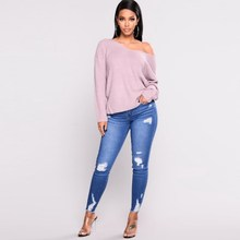 Jeggings Stretch Slim Pencil Pants Women Casual Clothin