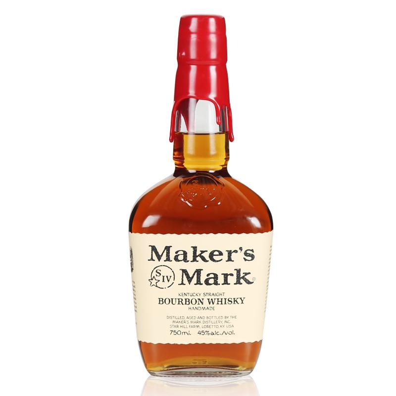 进口洋酒 美格波本威士忌Maker's Mark Bourbon Whisky行货